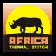 Тепловые керамические панели AFRICA
