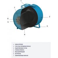Гидроаккумулятор горизонтальный CIMM AFOSB CE 20 -3/4' (532010/01)