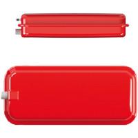 Расширительный бачок плоский прямоугольный красный CIMM RP 250/6 (9406)