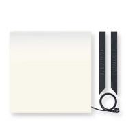 Керамическая панель отопления HYBRID (Гибрид) 375 W, белая