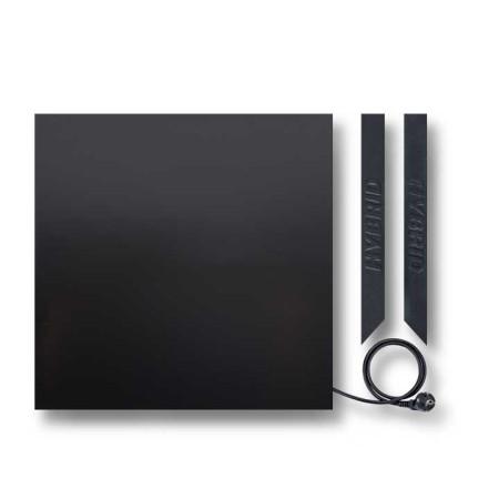 Инфракрасная керамическая панель HYBRID (Гибрид) 375 W, черная