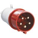Вилка переносная IEK 025 3P+PE+N 32A 380В IP44