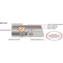 Конвектор Термия ЕВНА - 1,5/230 С2К (мби) с LED дисплеем