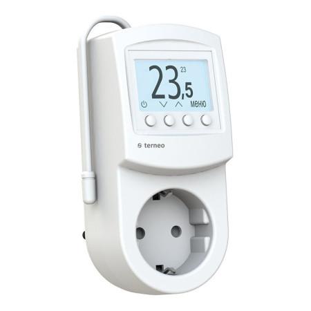 Комнатный терморегулятор TERNEO pro-z, белый