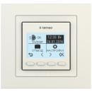 Комнатный терморегулятор TERNEO pro unic, слоновая кость, без датчика температуры пола