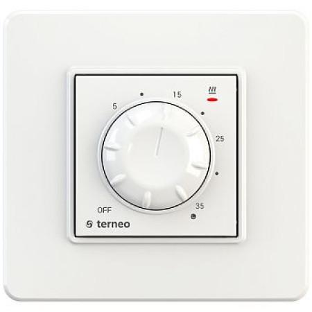 Комнатный терморегулятор TERNEO rol, белый