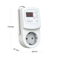 Комнатный терморегулятор TERNEO rz, белый