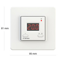 Комнатный терморегулятор TERNEO vt, белый