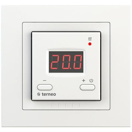Комнатный терморегулятор TERNEO vt unic, белый
